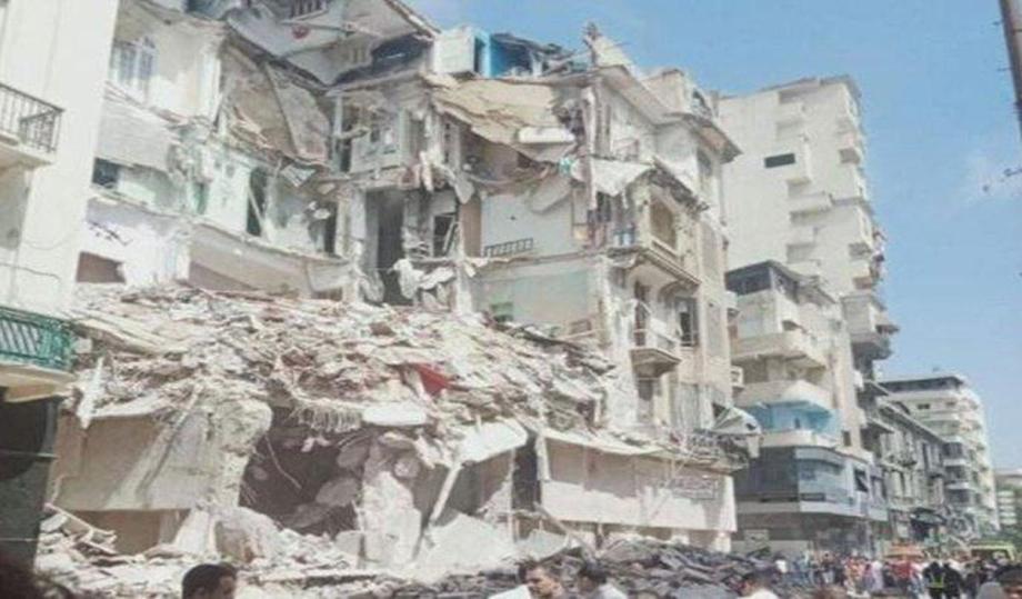Egypte: quatre morts dans l'effondrement d'un immeuble à Alexandrie