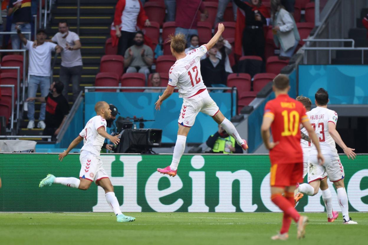 Euro-2021 : le Danemark, premier qualifié pour les quarts de finale