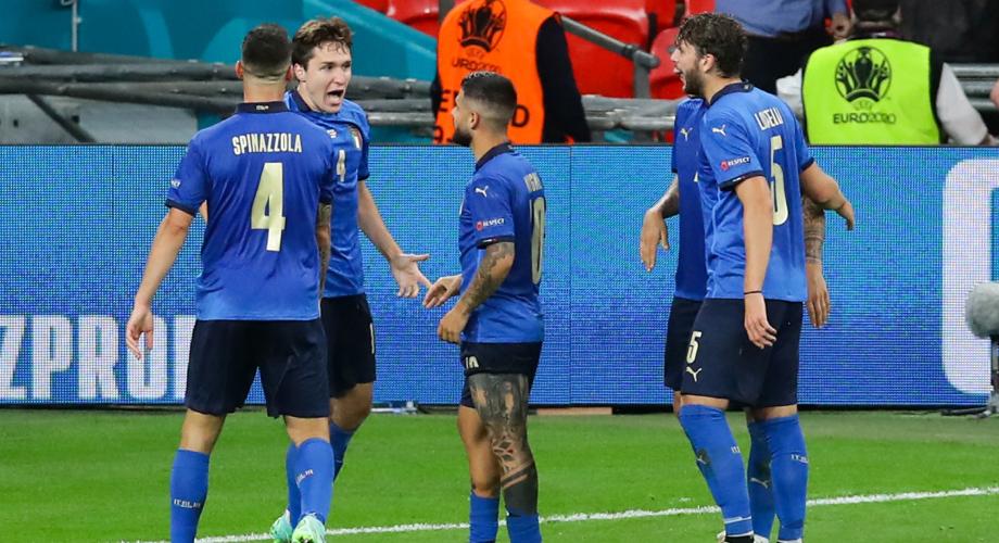 أمم أوروبا.. إيطاليا تتأهل إلى ربع النهائي