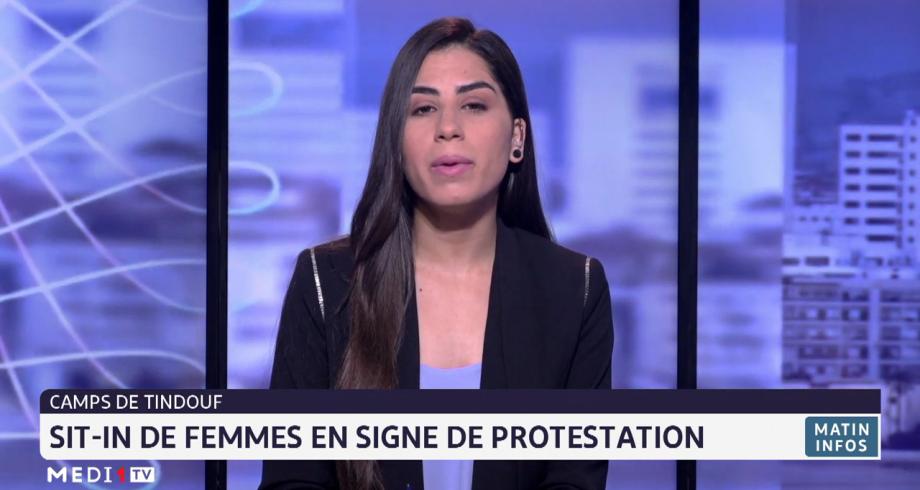 Camps de Tindouf: Sit-in de femmes en signe de protestation