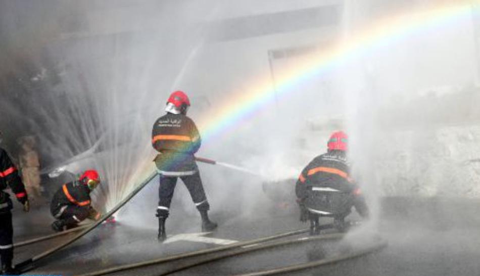 عمالة المضيق الفنيدق: تمرين محاكاة لمكافحة حرائق الغابات