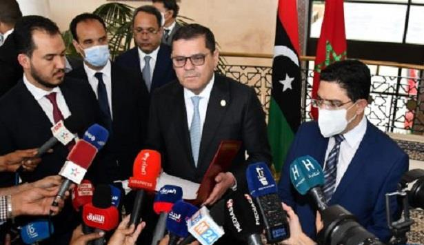رئيس الحكومة الليبية المؤقتة يشيد بجهود المغرب لتحقيق الاستقرار ببلاده