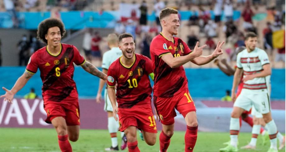 كأس أوروبا ..بلجيكا تجرد البرتغال من اللقب وتبلغ ربع النهائي