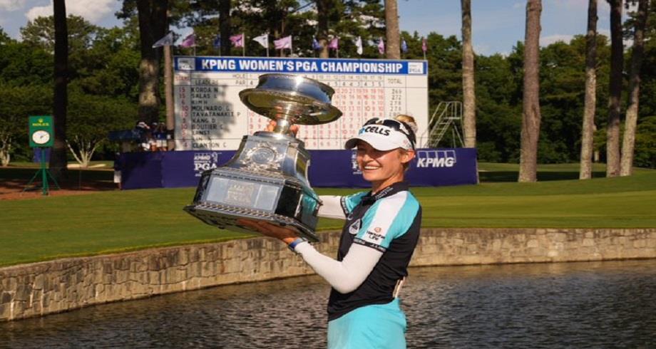 Golf: l'Américaine Korda devient N°1 mondiale