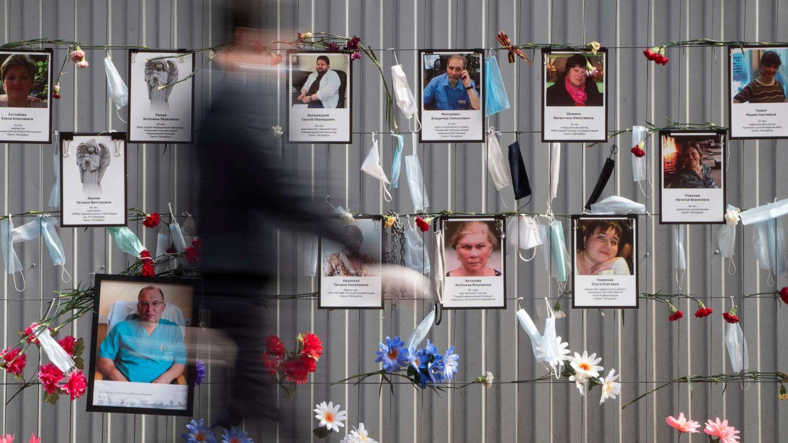 موسكو وسان بطرسبرغ تسجلان وفيات قياسية جراء كوفيد-19