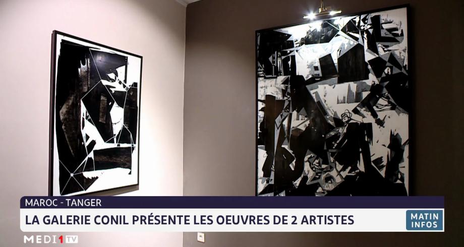 Tanger: la galerie Conil présente les œuvres de deux artistes