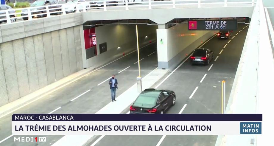 Casablanca: la trémie des Almohades ouverte à la circulation