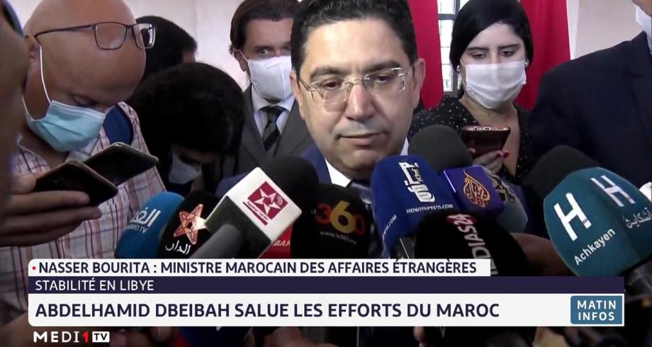 Libye: Abdelhamid Dbeibah salue les efforts du Maroc