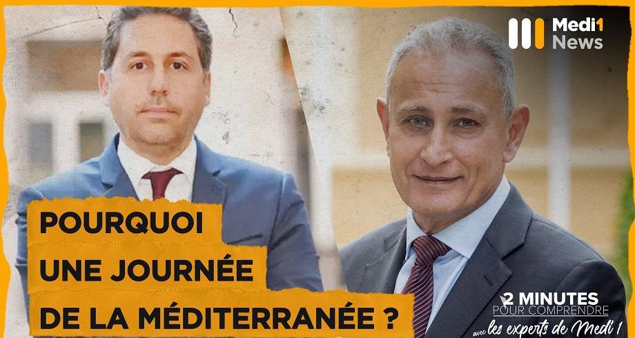 """""""Pourquoi une journée de la Méditerranée?"""" par Nasser Kamel, SG de l'UpM et Karim Amellal, Ambassadeur français à la Méditerranée"""