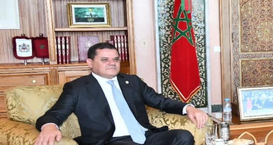 """الدبيبة: الشعب الليبي """" يطلب مزيدا من الدعم"""" من المغرب لتجاوز الأزمة"""