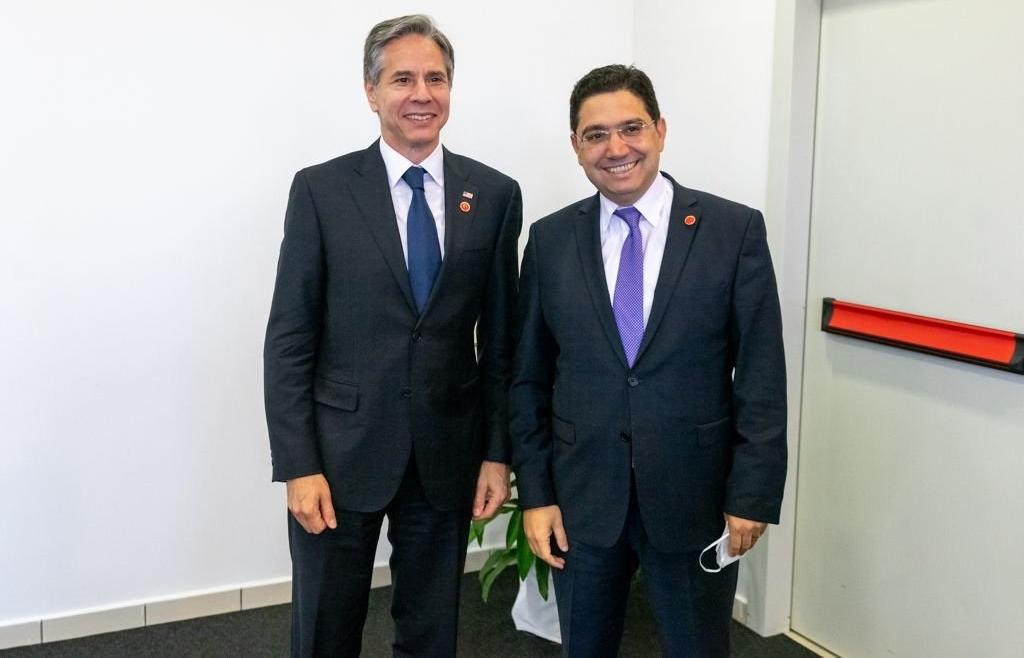 Nasser Bourita s'entretient à Rome avec le Secrétaire d'État américain Antony Blinken
