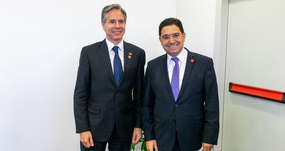 بوريطة يتباحث في روما مع وزير الخارجية الأمريكي أنتوني بلينكن