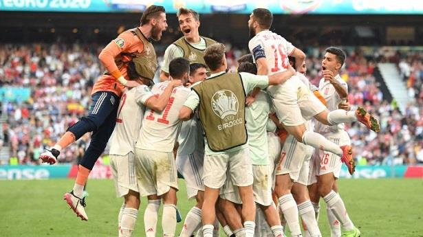 كأس أمم أوروبا ..المنتخب الإسباني يتأهل إلى ربع النهائي