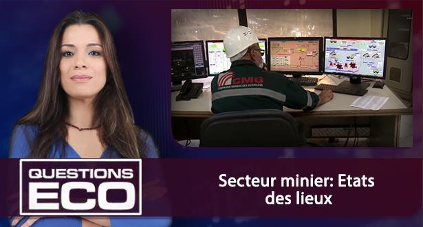 Secteur minier: Etats des lieux