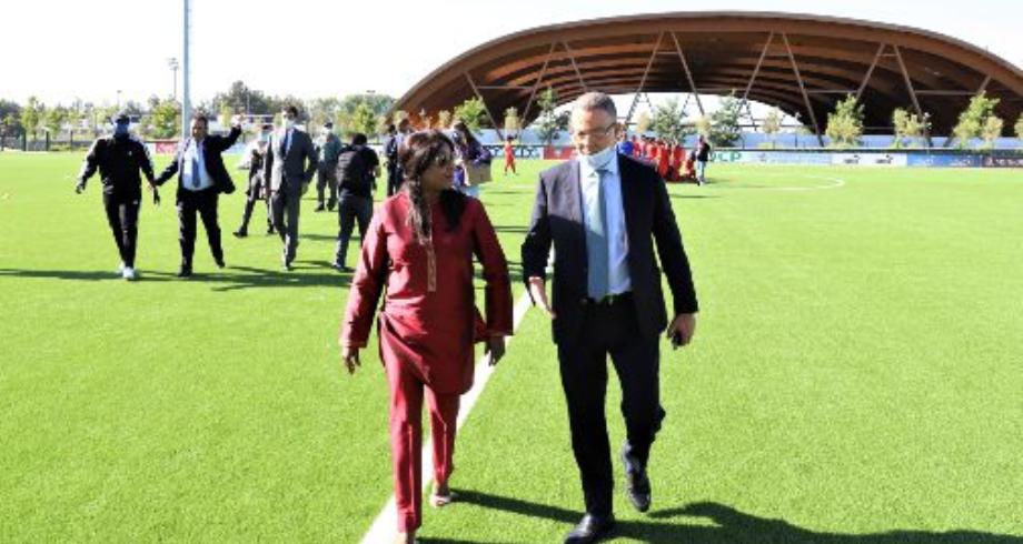 """الكاتبة العامة لـ""""فيفا"""": المغرب يقوم بدور طلائعي في مجال تطوير كرة القدم النسوية"""