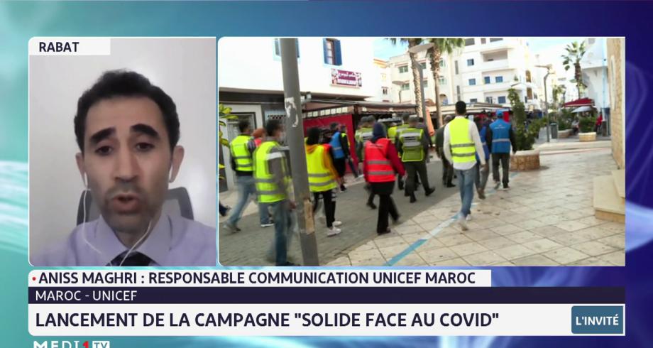 "Maroc-UNCIEF: lancement de la campagne ""solide face au Covid"""