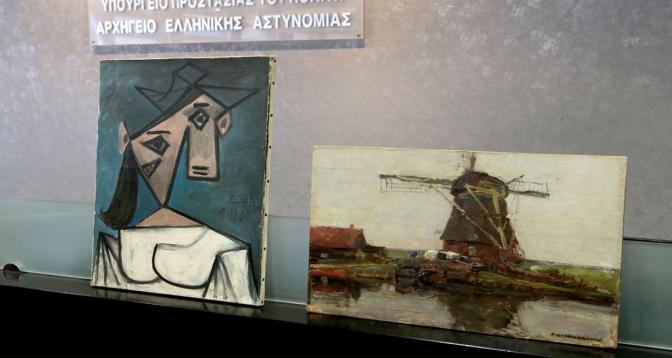 Grèce: La police retrouve un Picasso et un Mondrian volés en 2012