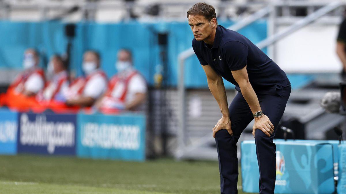 Le sélectionneur des Pays-Bas Frank de Boer démissionne