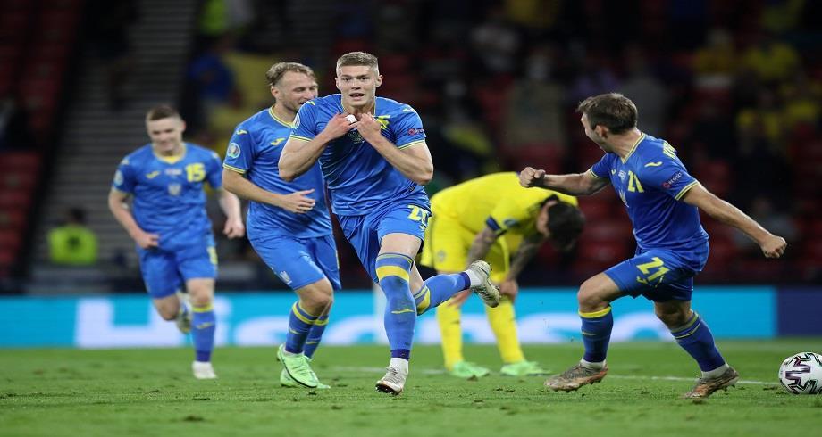 Euro 2021: l'Ukraine bat la Suède et se qualifie pour les quarts de finale