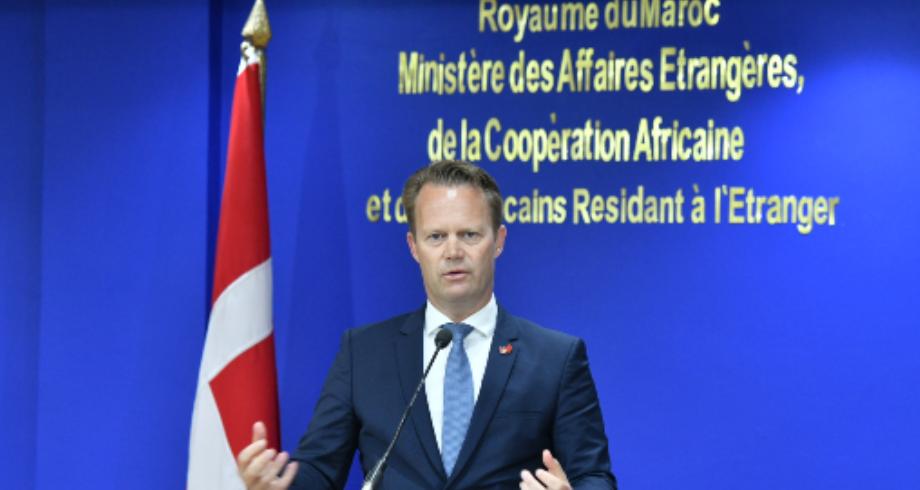 وزير الشؤون الخارجية الدنماركي: علاقة متينة تتعزز بشكل مطرد بين المغرب والدنمارك