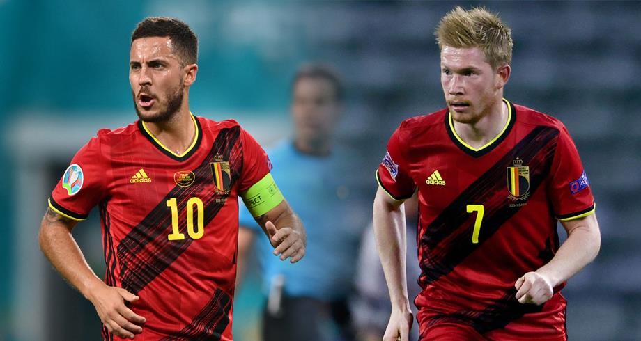 Euro 2020: les Belges Eden Hazard et De Bruyne absents à l'entraînement
