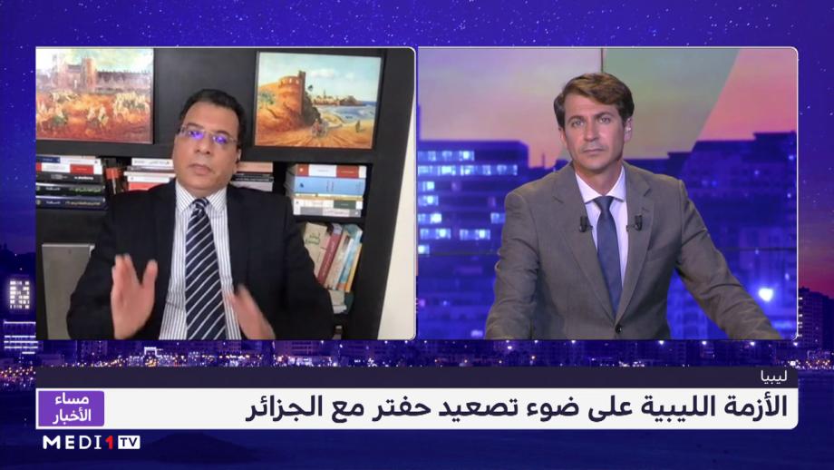 اسليمي: الجزائر لا تريد الاستقرار في ليبيا لوجود نزاع حول الحدود