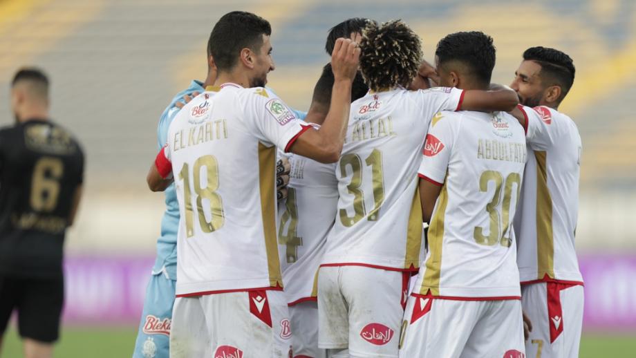 Botola Pro D1: victoire à domicile du Wydad de Casablanca face au Moghreb de Tétouan