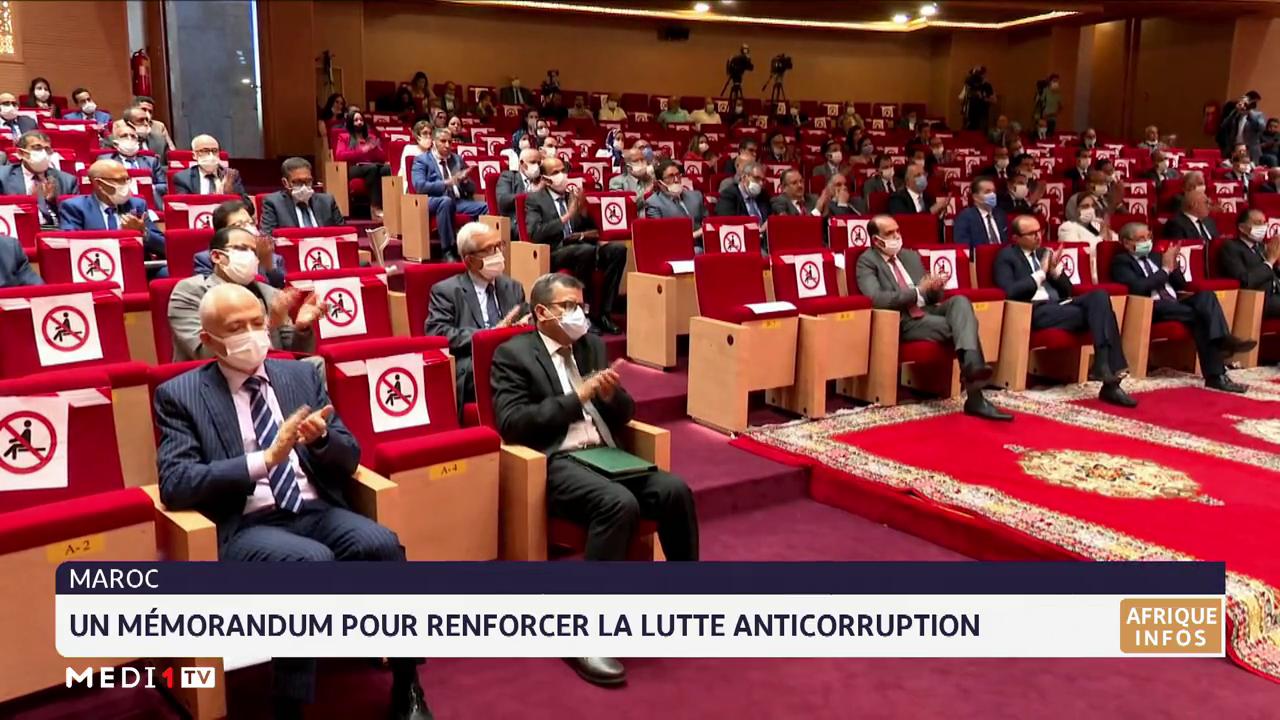Maroc: un mémorandum pour renforcer la lutte anticorruption