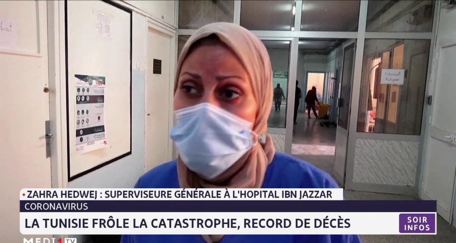 Covid-19: la Tunisie frôle la catastrophe, record de décès