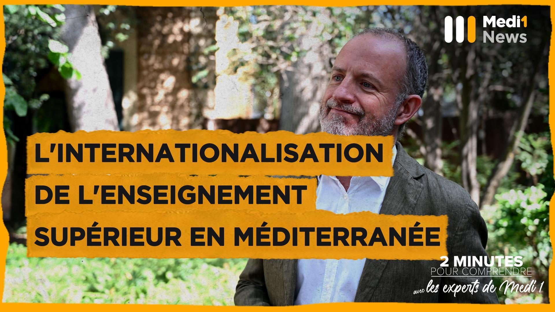 """""""L'internationalisation de l'enseignement supérieur en Méditerranée"""" par João Lobo à l'UpM"""