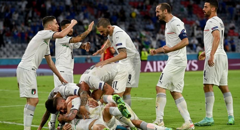 كأس أوروبا.. إيطاليا تطيح ببلجيكا وتبلغ نصف النهائي