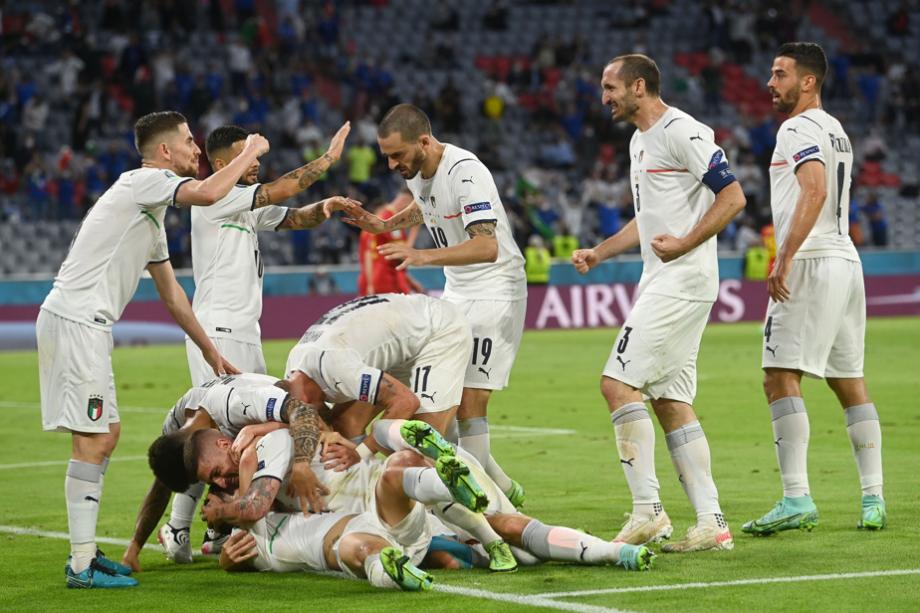 Euro: l'Italie bat la Belgique et rejoint l'Espagne en demies