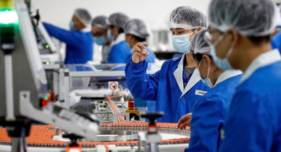 """الصين وفرت 480 مليون جرعة من لقاحات """"كوفيد-19"""" للعالم"""
