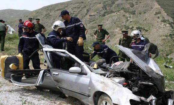 Algérie : Quinze morts dans des accidents de la route en 48 heures