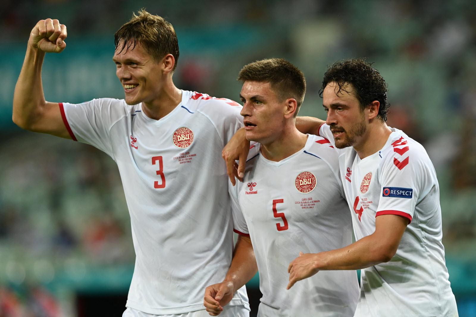 Euro 2020 : le Danemark bat la République Tchèque (2-1) et se qualifie en demi-finale
