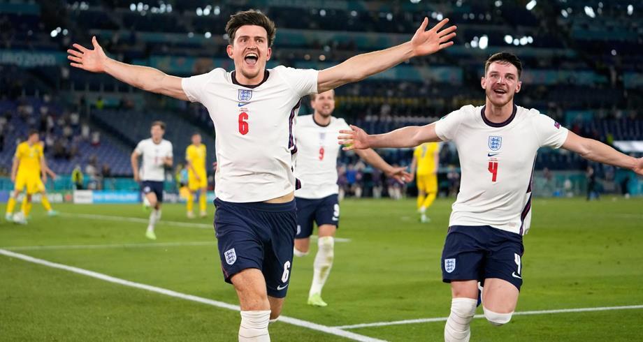 كأس أوروبا .. إنجلترا تكتسح أوكرانيا برباعية نظيفة وتبلغ نصف النهائي