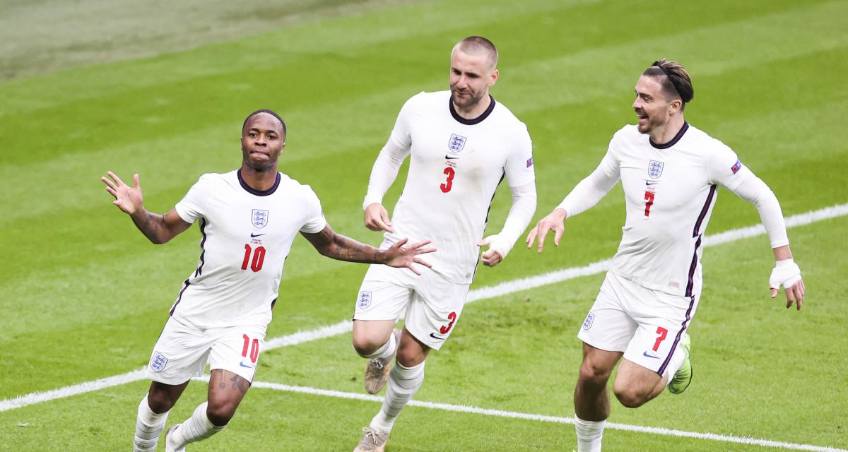 Euro-2020 : L'Angleterre complète le dernier carré avec l'art et la manière