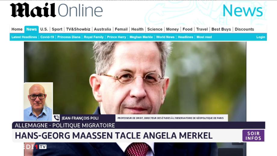 Allemagne-politique migratoire: Hans-Georg Maassen tacle Angela Merkel