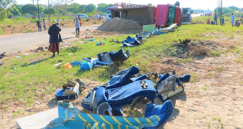 مقتل 31 شخصا على الأقل في حادثة سير جنوب موزمبيق