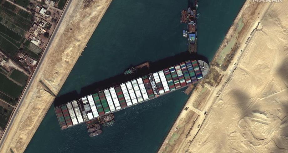 Canal de Suez: libération mercredi de l'Ever Given