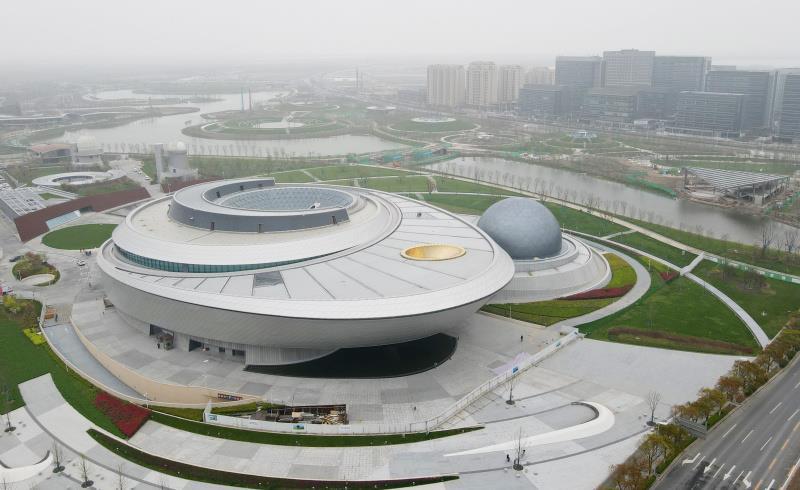 Inauguration prochaine en Chine d'un planétarium