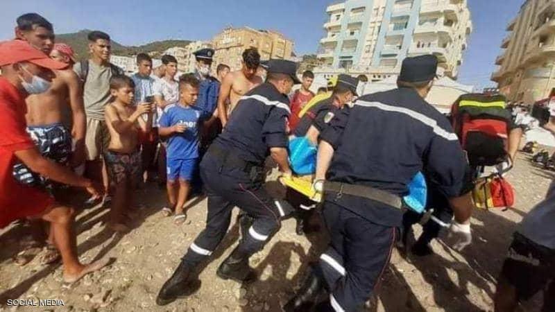 الكشف عن تفاصيل حادثة الإغماء الجماعي بشاطئ تنس بالجزائر