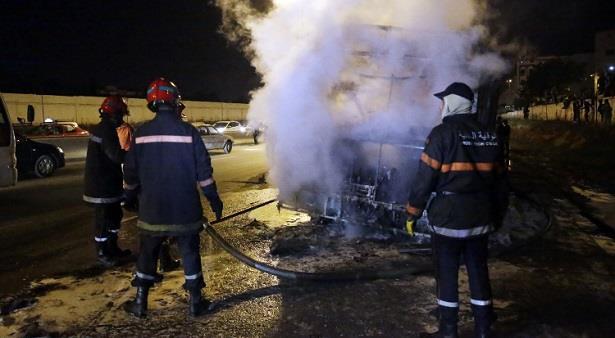 السيطرة على حريق شب بالمحجز الجماعي لسيدي عثمان بالدار البيضاء