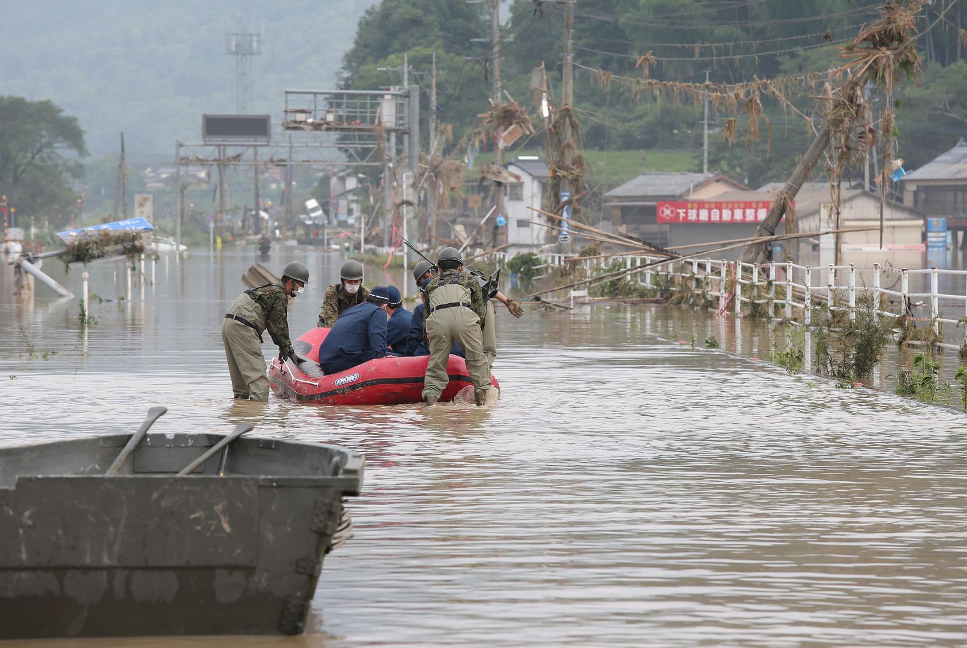 إجلاء أكثر من 20 ألف شخص في الصين بسبب الفيضانات