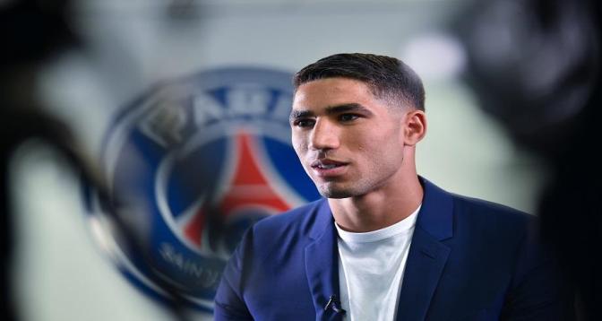 """Hakimi veut """"graver"""" son nom dans l'histoire du PSG"""