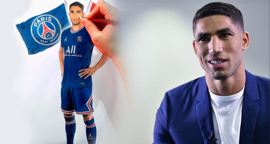 """PSG: Hakimi """"fier"""" de jouer pour l'un des clubs """"les plus prestigieux du monde"""""""
