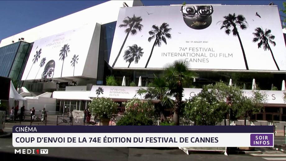 Cinéma: coup d'envoi de la 74ème édition du festival de Cannes