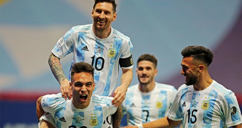 Copa America : L'Argentine rejoint le Brésil en finale