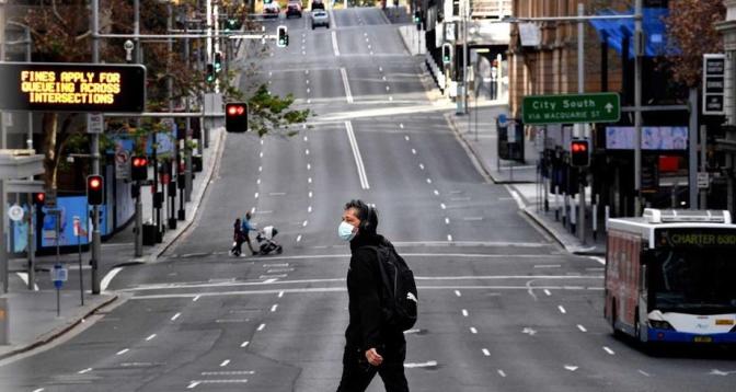 أستراليا .. تشديد الإغلاق العام في مدينة سيدني بعد تسجيل أكبر حصيلة يومية من الإصابات بكوفيد-19