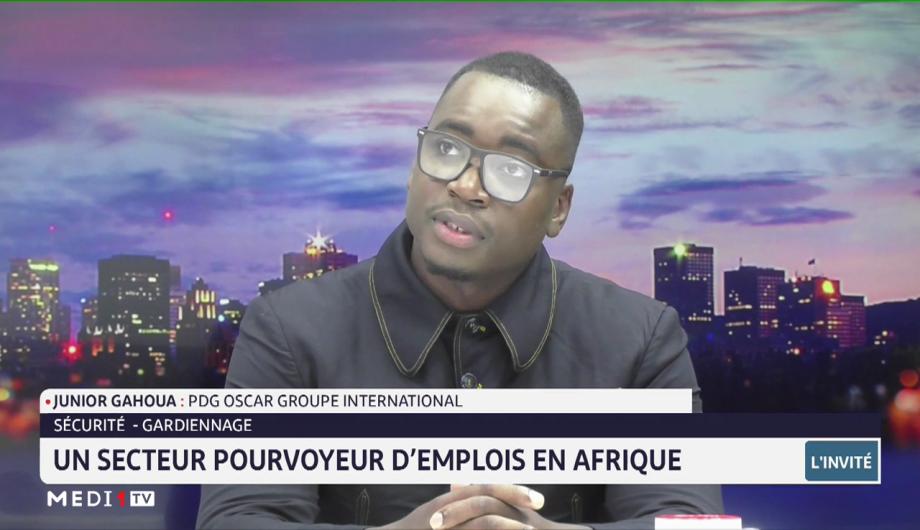 Sécurité-gardiennage: un secteur pourvoyeur d'emplois en Afrique